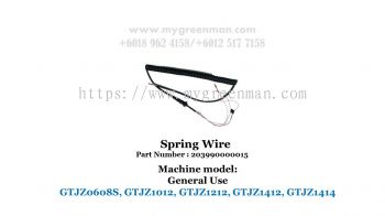 Scissor Lift Spare Part - Spring Wire 203990000015