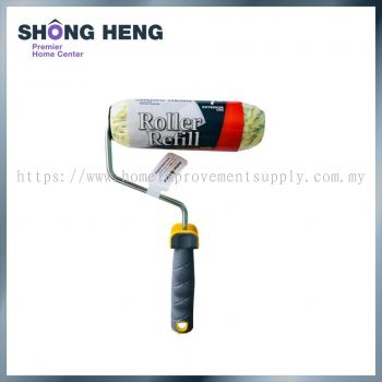 PAINT ROLLER WITH HANDLE PROFESSIONAL POLYMIDE ROLLER 7 INCH