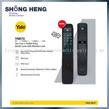 YALE YMI70 Intelligent Biometric Push & Pull Digital Door Lock