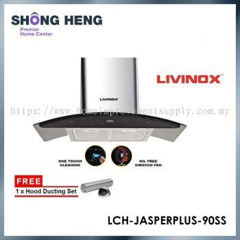 LIVINOX Stainless Steel & Tempered Glass Finishing Hood (LCH-JASPERPLUS-90SS)