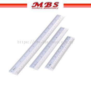 LIMENG BEST PLASTIC RULER 1015 (15CM) / 1020 (20CM) / 1030 (30CM)