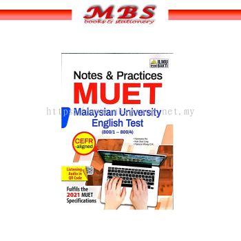 *** ILMU BAKTI Notes & Practices MUET CEFR-Aligned (800/1-800/4) (2021) *** Notes & Practices MUET i