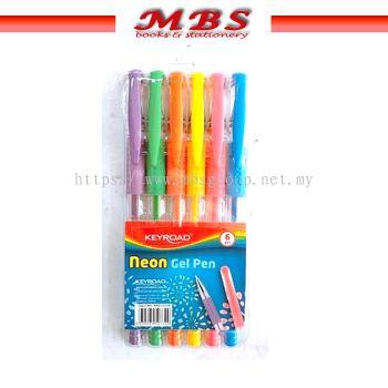 Gel Pen Set (6 colours) 0.8mm - Metallic Set / Neon Set / Pastel Set