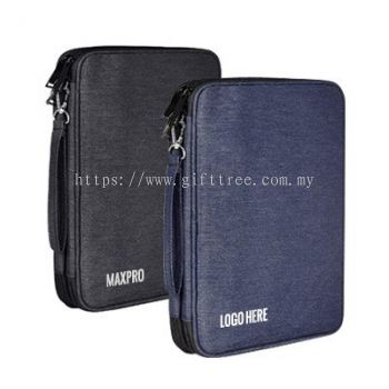 DUO Layer 4 Compartment Travel Gadget Pouch - B 118