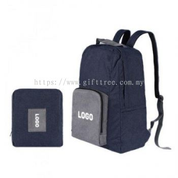 Holiday Foldable Poly Travel Backpack - B 121