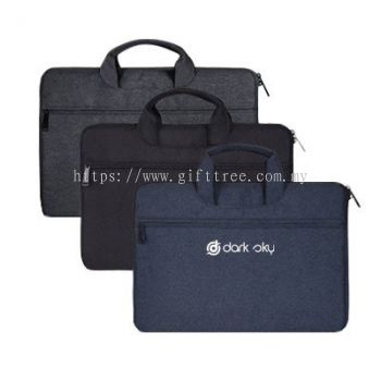 Plush Laptop Pouch with Carry Handle - B 124