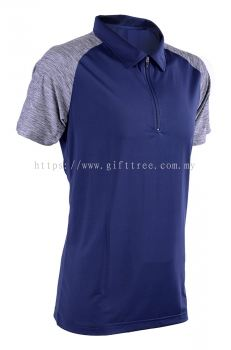 Mircofiber Zip Collar Shirt - MOZ 44