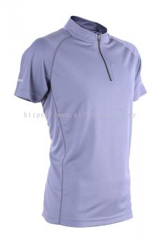 Mircofiber Zip Collar Shirt - MOZ 45