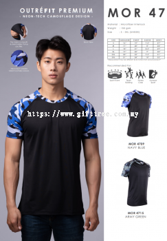 Outr��fit Sublimation Round Neck - MOR 47