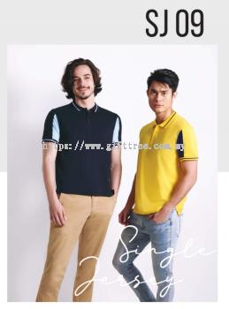 Single Jersey Collar Shirt - SJ 09