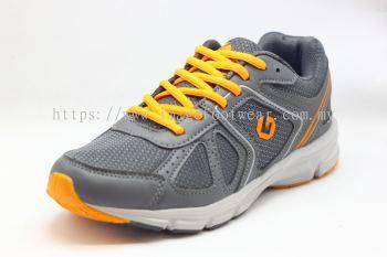 GATTI Men Sport -GS-185115-11- GREY/ORANGE Colour