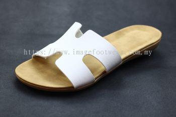 Lady Slipper Flat MURAH EQ21011- WHITE Colour
