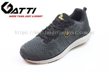 GATTI Men Sport Shoe -GS-205104-01- BLACK Colour