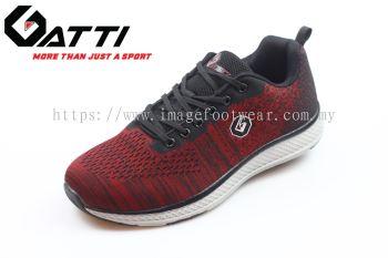 GATTI Men Sport Shoe -GS-205104-05- RED Colour