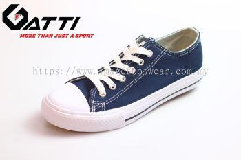 GATTI Men Casual Canvas Sneaker Shoe- GS-188115-02 BLUE Colour