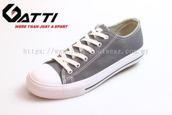 GATTI Men Casual Canvas Sneaker Shoe- GS-188115-21 DARK GREY