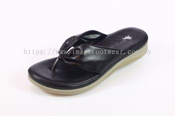 JJ MASTINI Lady Slipper JJ-51-5886- BLACK Colour