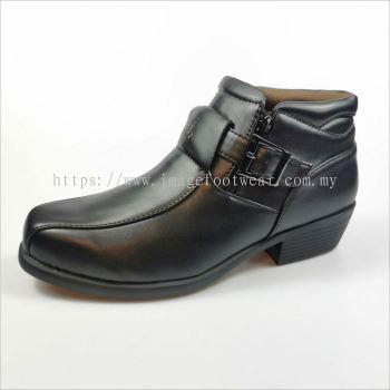 JJ MASTINI Men Shoes- JJ-82-80920- BLACK Colour