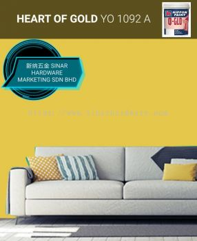 NIPPON INTERIOR PAINT Q-GLO - NP YO1092A HEART OF GOLD