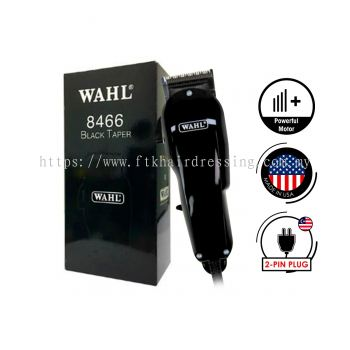 WAHL Black Edition Super Taper Corded Hair Clipper 8466