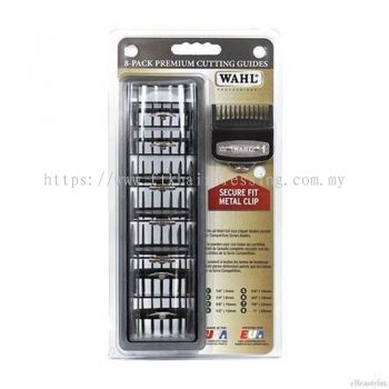 WAHL Pro 8-Piece Premium Cutting Guides Attachment in Caddy (3171-500)