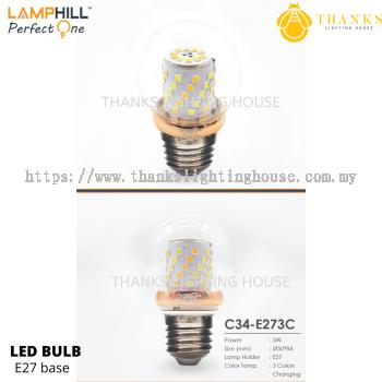 C34 E27 LED Bulb