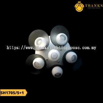 SH1705/5+1 Ceiling Light