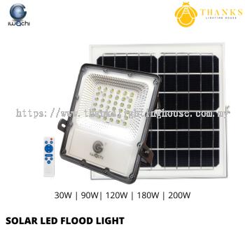 IWACHI SOLAR LED FLOOD LIGHT