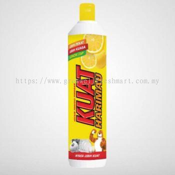 Kuat Harimau Dishwash Liquid Lemon