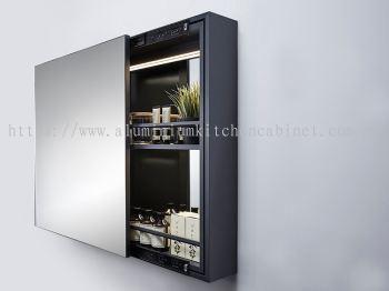 Aluminium Cabinet - Mirror Cabinet
