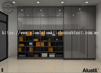 Aluminium Cabinet @Study Room