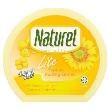 Naturel Reduced Fat Lite Spread - Sapuan Kurang Lemak (250 gm)