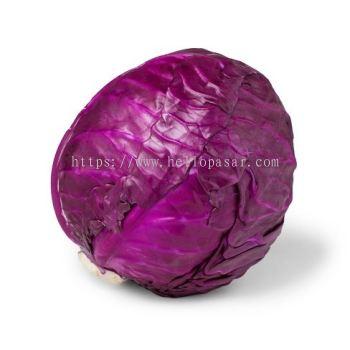 Red Cabbage - Kobis Merah (0.8 - 1.0 kg per piece)
