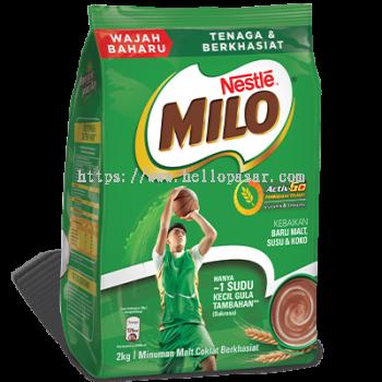 Nestlé Milo Activ-Go Softpack (2 kg)