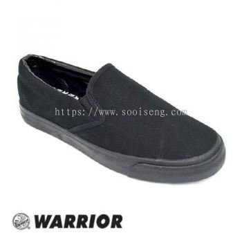 WARRIOR SLIP ON SHOE (W 739-BK) BLACK