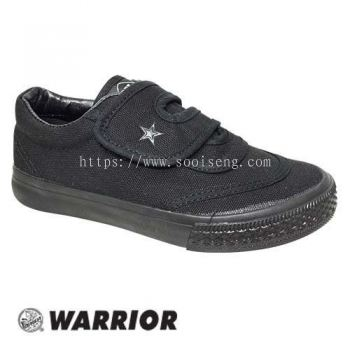 WARRIOR SLIP ON SHOE (W 2698-BK) BLACK