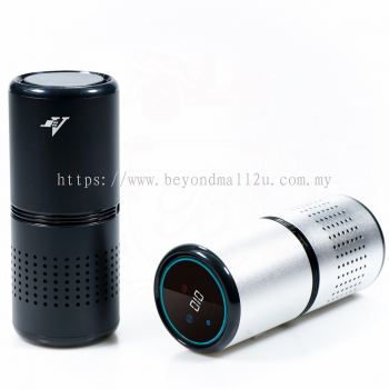 JV JAP-F1 CAR AIR PURIFIER WITH HEPA 13 FILTER, GESTURE CONTROL & AROMA FUNCTION