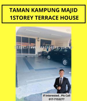 Taman Kampung Majid 1 Storey Terrace House