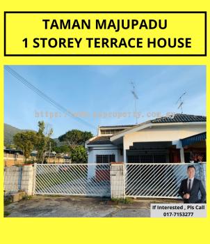 TAMAN MAJUPADU 1 STOREY TERRACE HOUSE CORNER LOT