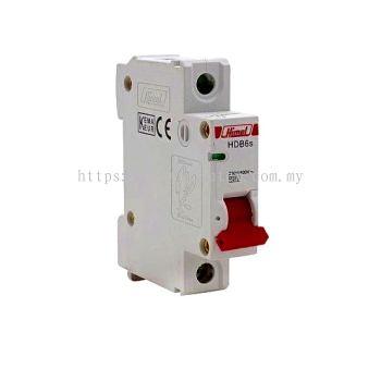HIMEL HDB6s 1P MCB (Miniature Circuit Breaker) RCBO