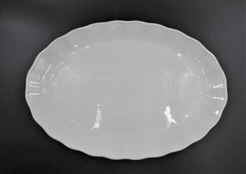 "HX11002 17"" Wavy Round Plate"