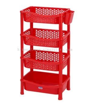 DT0826/4 4 Tier Shelf