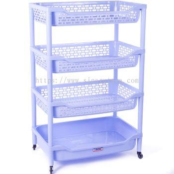 DT0828/4BX Shelf No.0828/4 with wheels