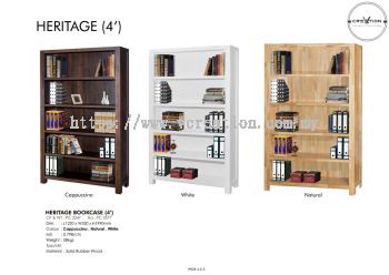Heritage Bookcase (4')