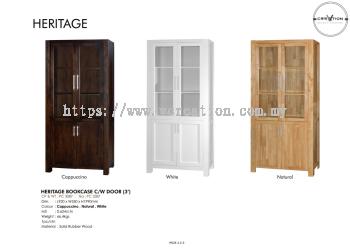Heritage Bookcase C/W Door (3')