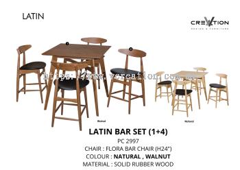 Latin Bar Set (1+4)