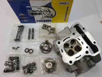 RS150-RACING COPPER HEAD 22MX25M-COMPLETE SET