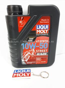 LIQUI MOLY 4T 10W50 STREET RACE FULLY SYNTHRTIC 1L