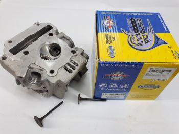 SRL115 RACING HEAD +VALVE IN/EX-24X28MM-SET-ESPADA