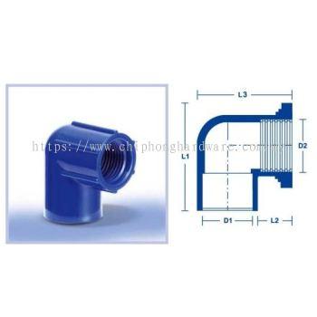 Faucet (P/T) Elbow